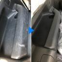 プラスチックパーツ擦れキズの補修