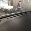 ダッシュボードのベタつき除去施工